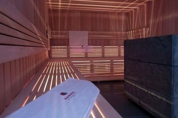 Sauna sucha w Pensjonacie Hawana